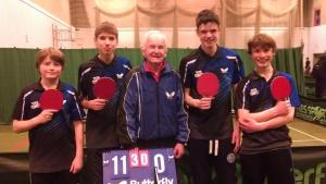 Beckfoot table tennis
