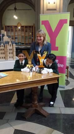 Tour De Yorkshire Trophy comes to City Hall 3